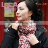 Custom made high quality pashmina wool scarf