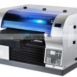 High resolution uncoated flatbed printer,A3 size digital stationery printer for pen,ruler, plain smartphone case printer
