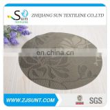 Hot sale jacquard flower coaster made in China