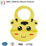 2018 Factory Wholesale Supplies Silicone Baby Bibs Waterproof Easy Clean Baby Bibs