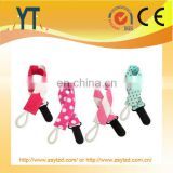 Hot selling! China supplier custom BPA free baby pacifier clip/2017 Cute Design Baby Soothie Pacifier Clips