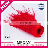 13-15cm red wholesale ostrich feather fringe