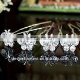 Bridal Butterfly Crystal Hair Pins