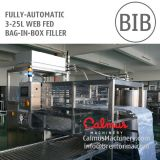 Fully-automatic 3-25 Litre WEB Fed Bag in Box Filler