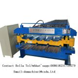 double layer  trapezoidal roof panel roll forming machine