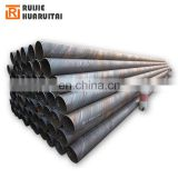 Api 5L  transmission pipe oil water ssaw spiral steel pipe