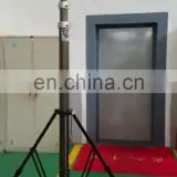 12m Military telescopic pneumatic antenna mast , radio telescoping mast tower
