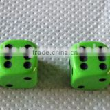 4 custom Green Dice Tire Wheel Stem Valve CAPS for Motorcycle Dirt Bike Bicycle Truck Hot Rod ATV Car