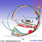 600V 105 Degree UL 1015 12AWG Ring Terminal Mechanical Control Cable Assemblies