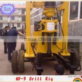 continuous 5 years saleable ,trailer mounted drilling machine !!! HF-3 deep well drilling rigs