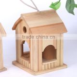 2016 New wood bird houses bird cage for kids