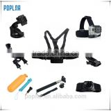 Poplar Hottest Camera Accessories GoPros Pack/Sets/Kits for GoPros 1 2 3/3+ 4 sj4000 xiaomi Camera