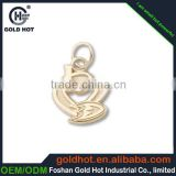 make your own logo metal key chain plating in gold