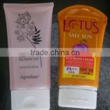 massage soft tube for lotion