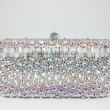 customized full crystal bling clutch bag handcee                                                                         Quality Choice