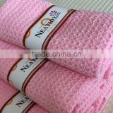 Microfiber waffle face wash cloth magic cleaning cloth