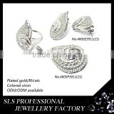 925 silver jewellery ladies earring/rings/pendants artificial kundan bridal jewellery sets