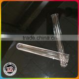 "Clear 5"" plastic test tube glasses"