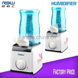 Water Bottle Humidifier with 2.3 Gallon Mist Output                                                                         Quality Choice