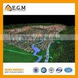 miniature city planning and construction model maker