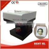 coffee printing machine with factory price, Digital selfie coffee printer,Low price printer for coffee