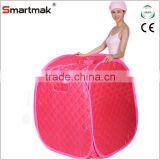 Lady Portable steam sauna tent at home