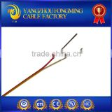 PVC insulated k type thermocouple compensation wire & cable 2*0.25mm2