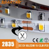 high lumens 2835 smd led strip light specifications wholesale