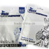top grade Pearlized white OPP/CPP plastic electronics packing zipper bag with butterfly hook