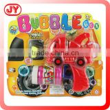 Popular kids toy friction power blowing bubble gun