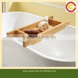 "30"" Total Bamboo Bathroom Caddy Shower Caddy"