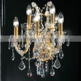 Decorative Maria Theresa Crystal Chandelier LED Bedside Wall Sconce Lamp Light Lighting Fixture for Home Hotel Decor CZ019/5