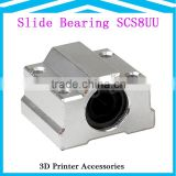prusa i3 3D printer accessories SC8UU 8mm Linear axis ball bearing slide block with bearing match use 8 mm Box-type linear slide