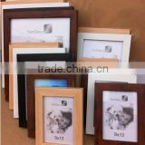 Wholesale factory direct cheap colorful standing and wall PS plastic picture photo frame