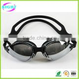 Best Seller Anti-Fog UV Protective Swimming Goggles Adjustable Strip Plating Swimming Goggle