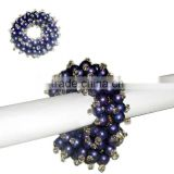 bulk beaded wholesale napkin rings