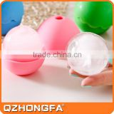 most popular whisky sphere ice molds,silicone ice ball mold, reusable ice sculpture molds