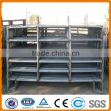 temporary livestock farm fence panel/ galvanized pipe horse fence panel