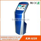 flexible free standing payment terminal kiosk/cash payment machine customized made in China