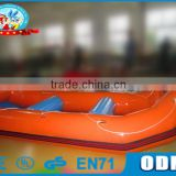 Good Quality Customize Size inflatable pontoon boat for Summer
