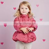 DB2744 dave bella 2015 winter infant coat baby padded jacket girls padded coat girls down coat down jacket