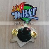 Factory price custom metal baseball trading pins led