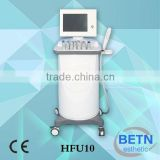 High quanlity and hot sale Seven tips HFU For Skin Tighten and Skin resurfacing /Deeping Cleaning machine
