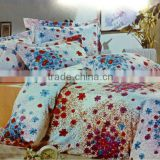 Fancy flower printed Duvet Cover With Pillow Case 3D Bedding Set Quilt Cover Single Double King