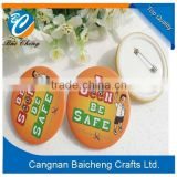 nice adorable round pin button badge as promotion gifts for sale with favourable price and top quality decorate the luggages