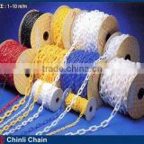 Plastic Link Traffic Chain,Combined Color Barricading Plastic Chain Sale