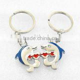 Dolphins Lover Key chains, Dolphins Lover Shape Key chains, Lover Key chains