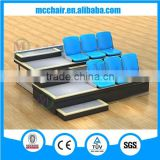 Athens Retractable Grandstand Telescopic Soccer Gym Bleachers Gym Seating Sports Equipment