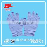 High quality powder free disposable nitrile dental glove