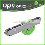 Aluminum Sliding Door Track Plastic Bottom Roller